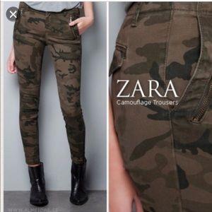 Zara USA size 8 Camouflage Trouser Pants
